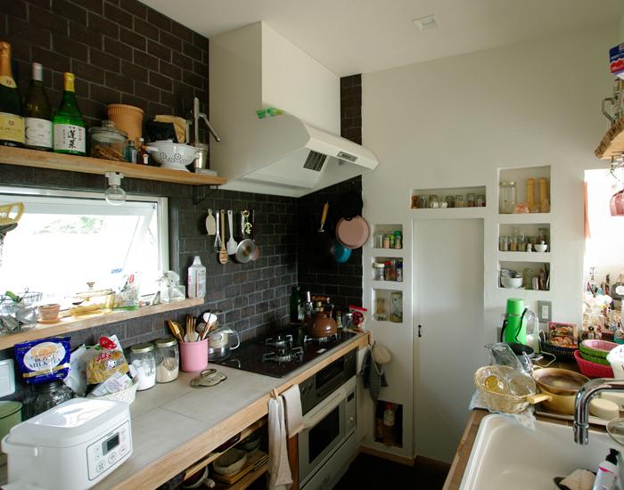 キッチン タイル