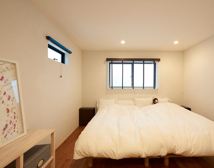 狭小住宅 寝室