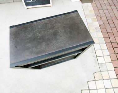 grayish wagon