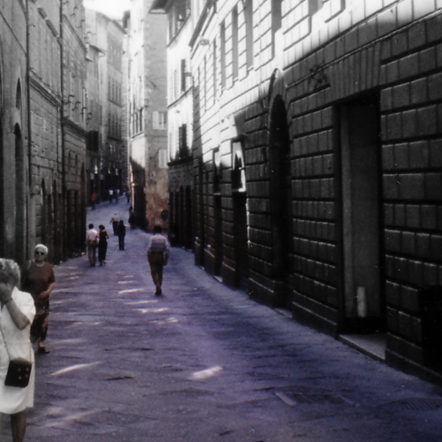 イタリアの路地裏