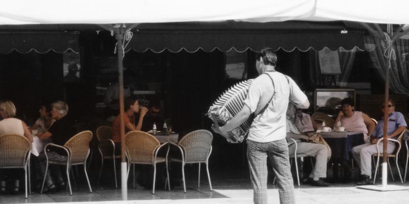 イタリアのカフェ