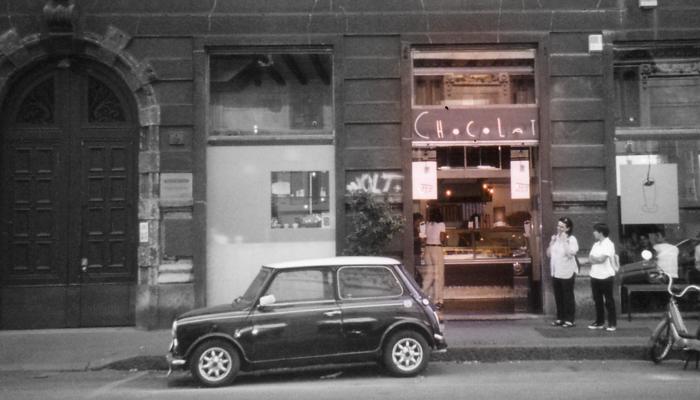 ローマのチョコレート屋さん