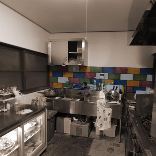 八百屋さんの厨房