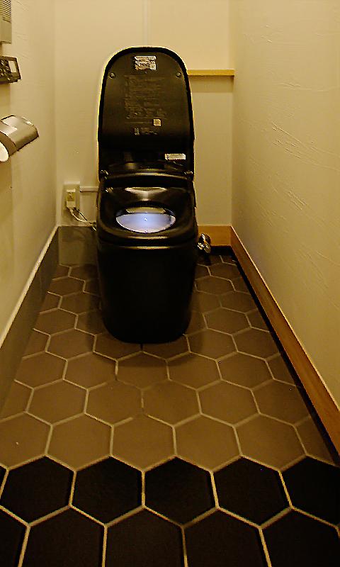 リクシル ブラックトイレ