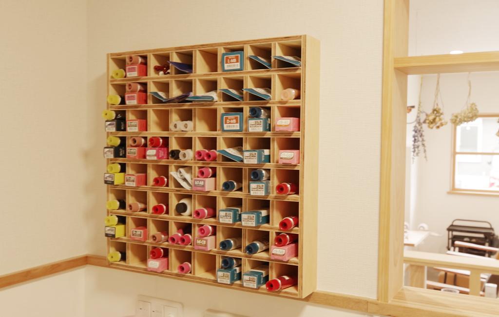 美容室 カラーボックス