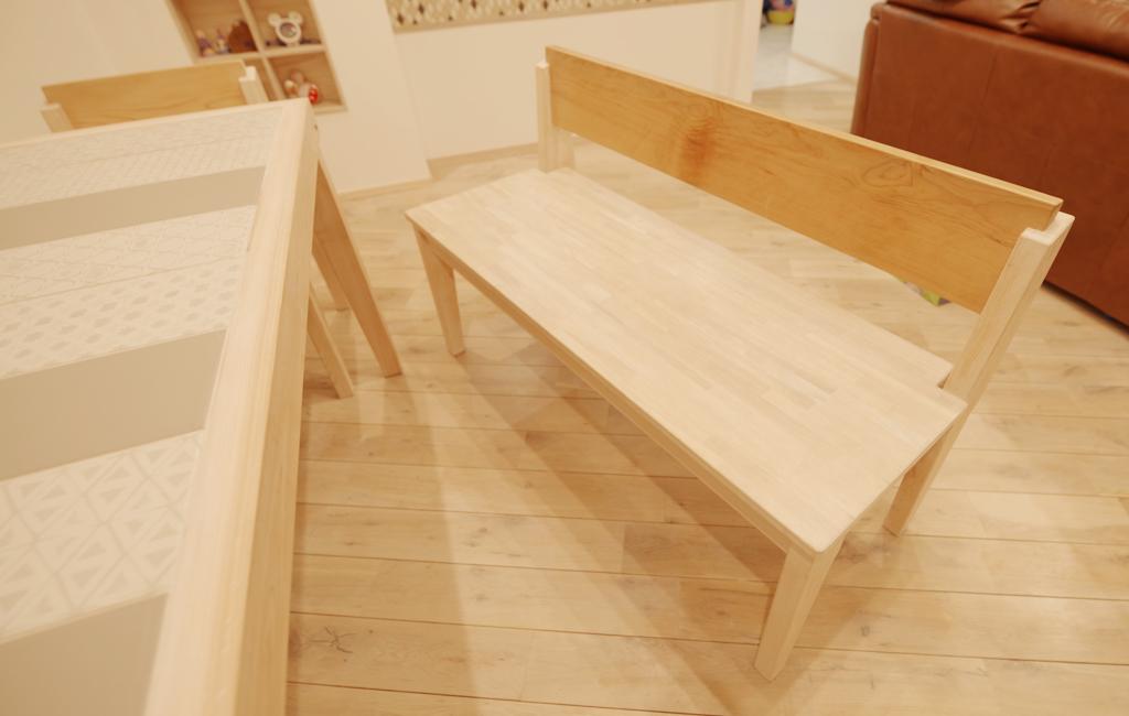 テーブル用ベンチ