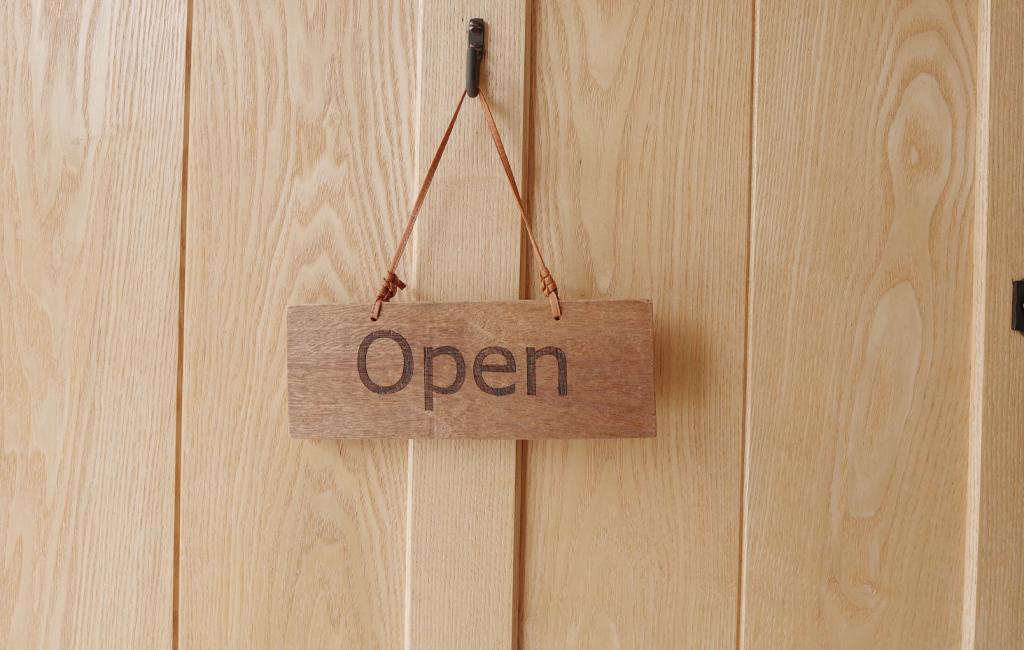 オープン看板