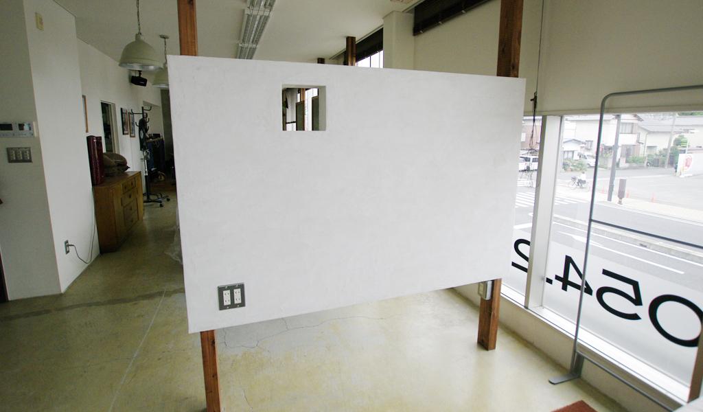 美容室 モールテックス間仕切り壁
